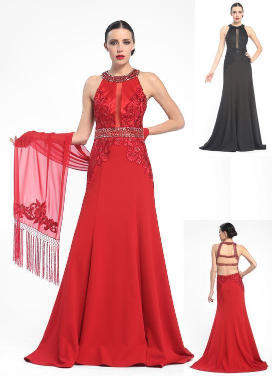 Sue Wong Long Evening Gown Prom Dress Formal - The Dress Outlet