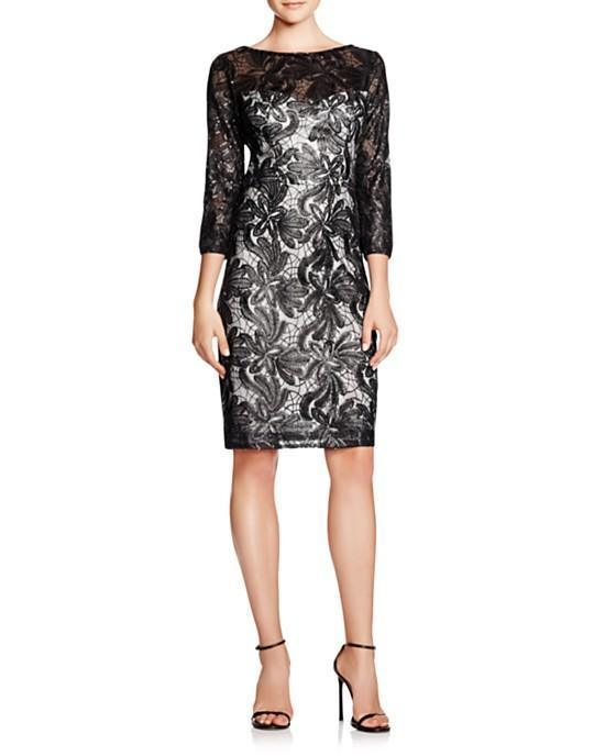 Sue Wong Short Dress Cocktail Formal - The Dress Outlet Black