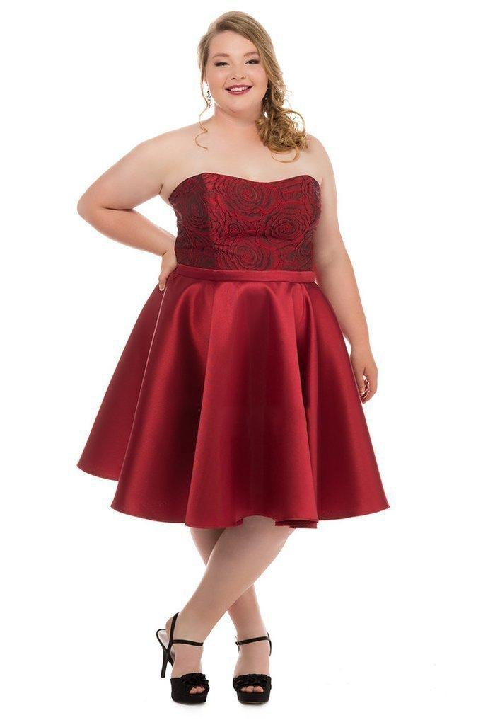 Sydneys Closet Short Prom Plus Size Dress - The Dress Outlet Sydneys Closet