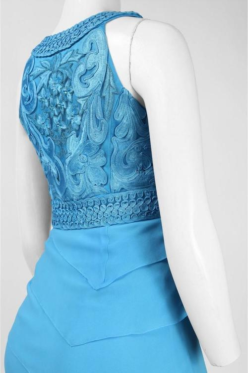 Sue Wong Long Formal Evening Gown Dress - The Dress Outlet