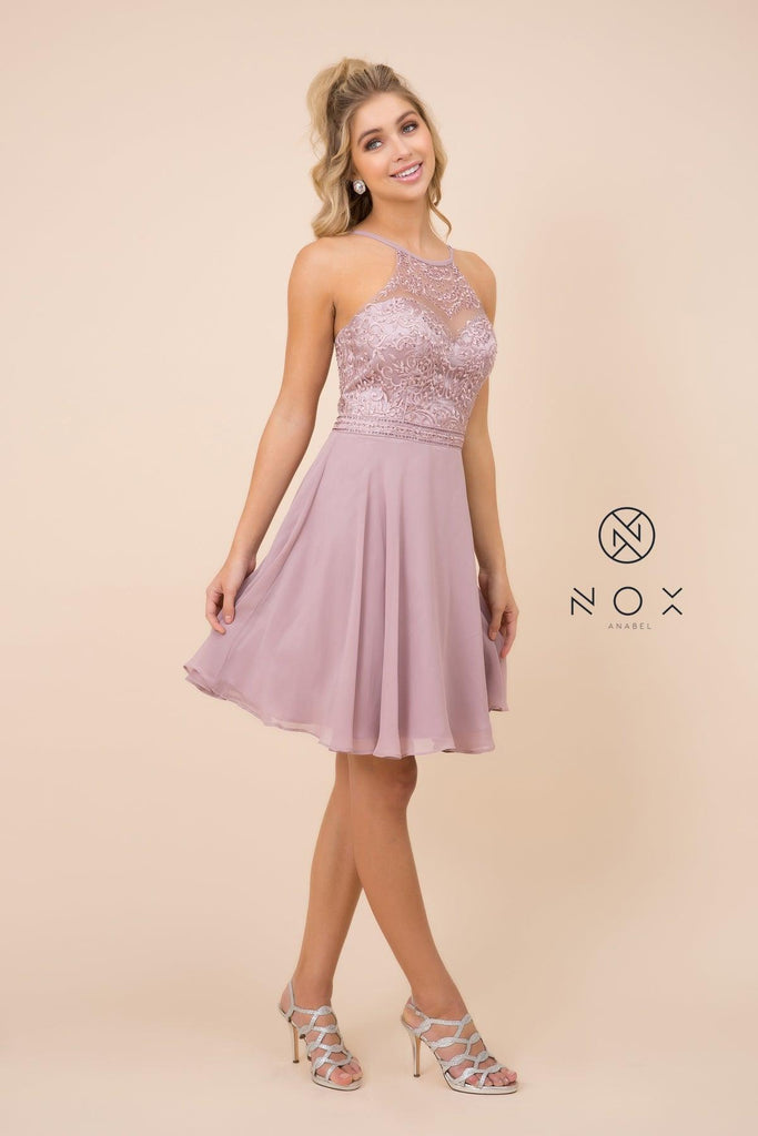 Short Sexy Prom Homecoming Dress - The Dress Outlet Nox Anabel
