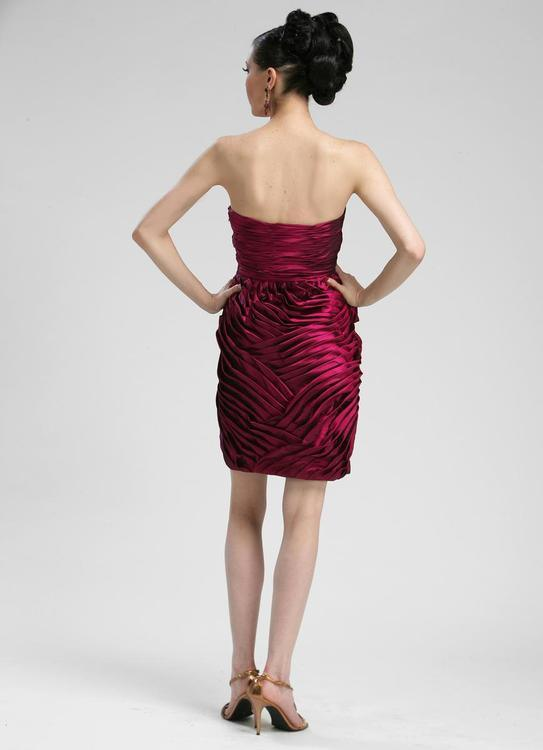 Sue Wong Short Straplesss Cocktail Party Dress - The Dress Outlet