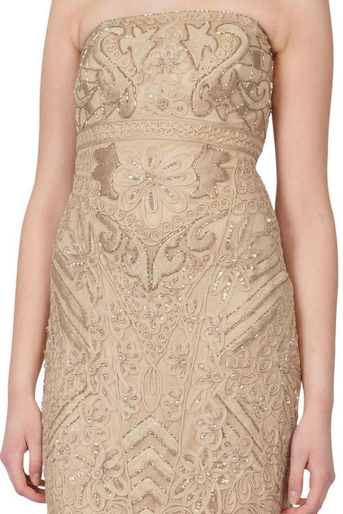 Sue Wong Short Strapless Cocktail Dress - The Dress Outlet