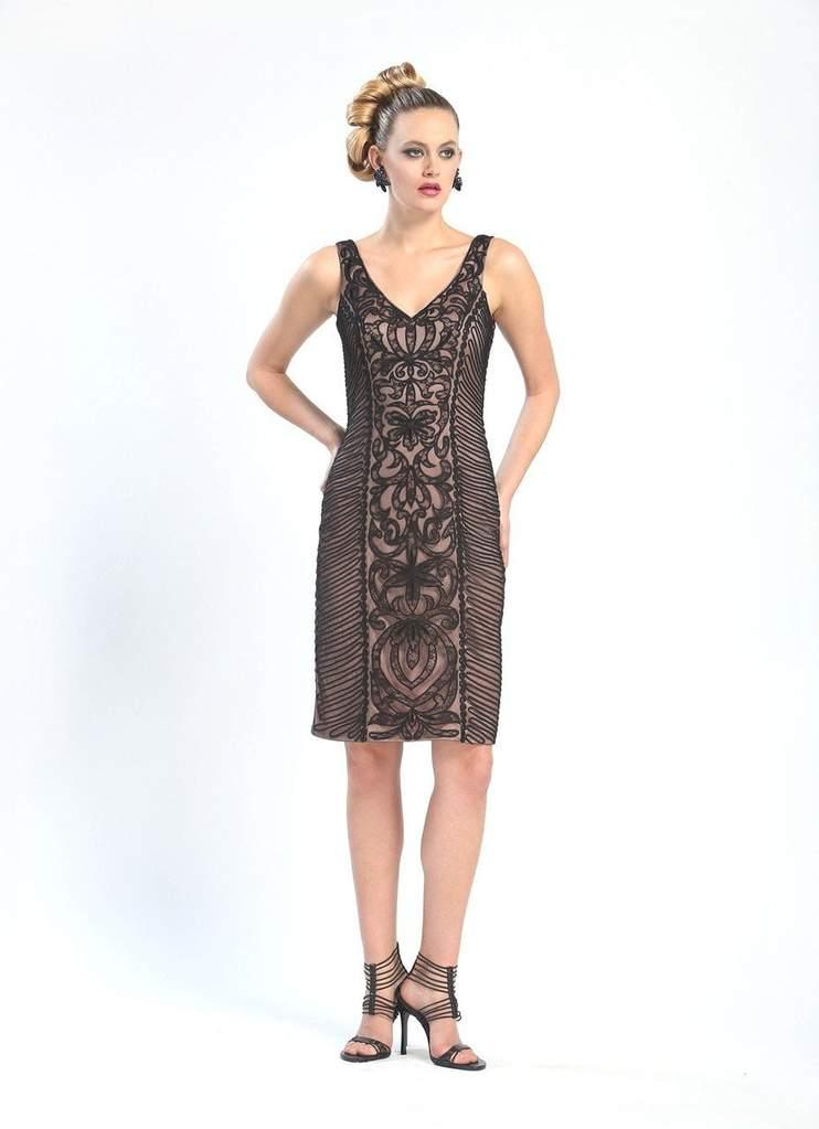 Sue Wong Short Cocktail Dress Formal - The Dress Outlet Sue Wong