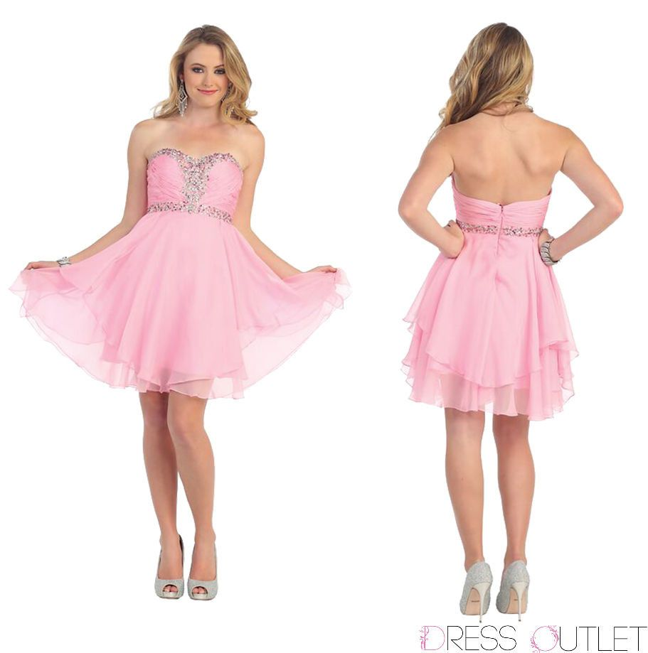Short Prom Plus Size Homecoming Cocktail Dress - The Dress Outlet  May Queen