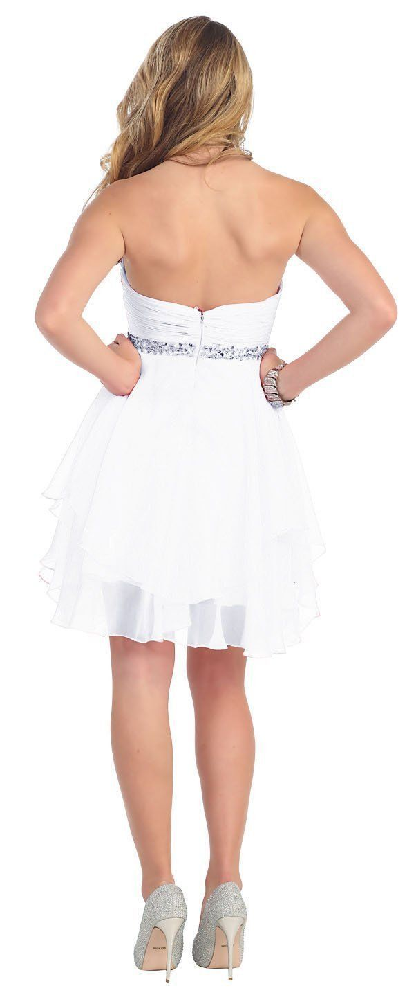 Short Prom Plus Size Homecoming Cocktail Dress - The Dress Outlet