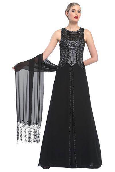 Sue Wong Long Evening Gown Formal Prom Dress - The Dress Outlet Sue Wong