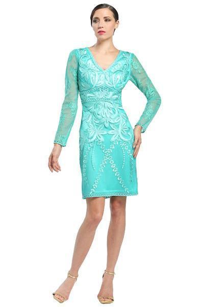 Sue Wong Formal Short Dress Cocktail - The Dress Outlet Sue Wong