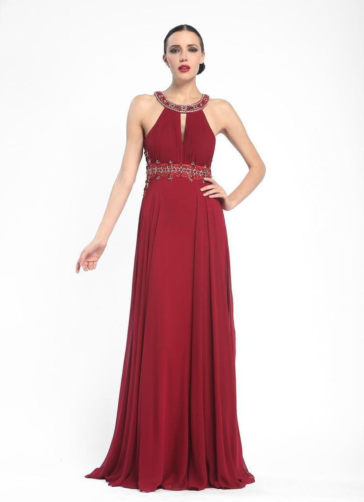 Sue Wong Sexy Long Formal Dress Evening Gown Prom - The Dress Outlet Port