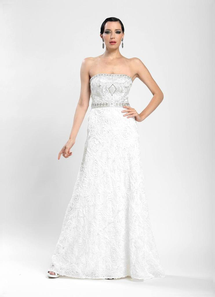 Sue Wong Long Formal Gown Evening Dress Bridal - The Dress Outlet Sue Wong
