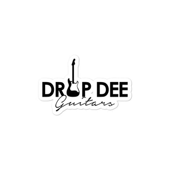DDG Bubble-free stickers - Drop Dee Guitars