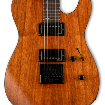 ESP LTD TE-1000 EverTune Koa Electric Guitar