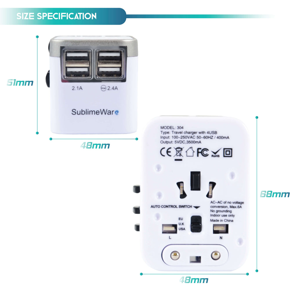 Travel adapter for Singapore