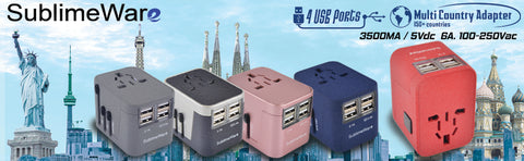 Travel adapters for Italy