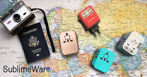 Travel adapter for world travel