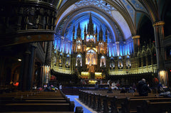 Basilique Notre-Dame in Montreal