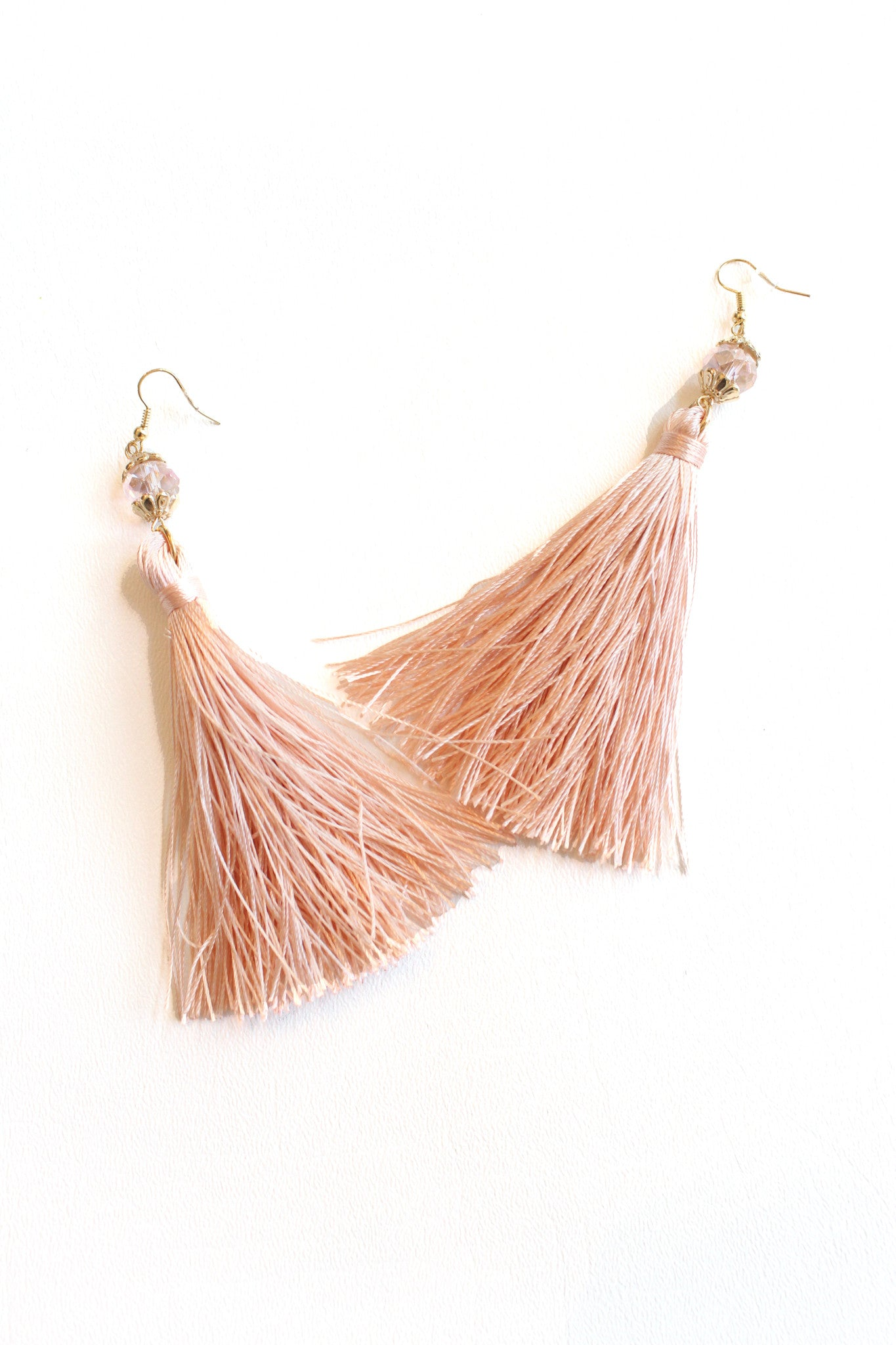 knotted astrid vanessa the mooney earrings ivory tassel products tassle