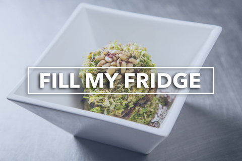 Fill My Fridge - Meal Plan Program