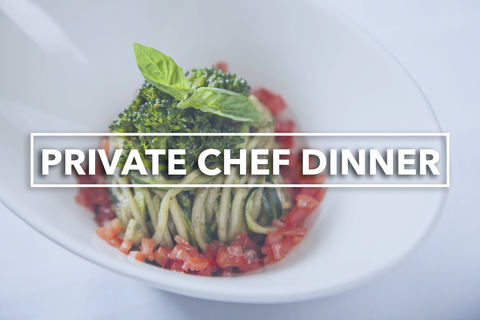 Private Chef Dinner Tasting