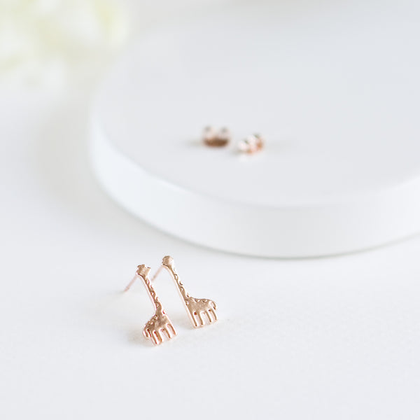 Cute Giraffe Ear Stud Earrings - TYPENU Co - 1