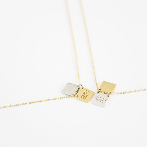 Hello Emotions Necklace - TYPENU Co - 1