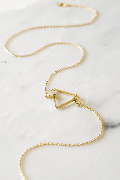 Trinity Triangle Necklace - TYPENU Co - 5