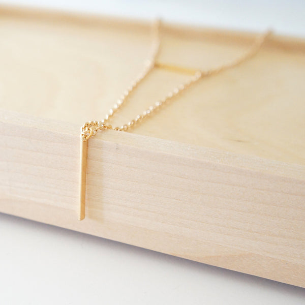 Double Bar Necklace - TYPENU Co - 1