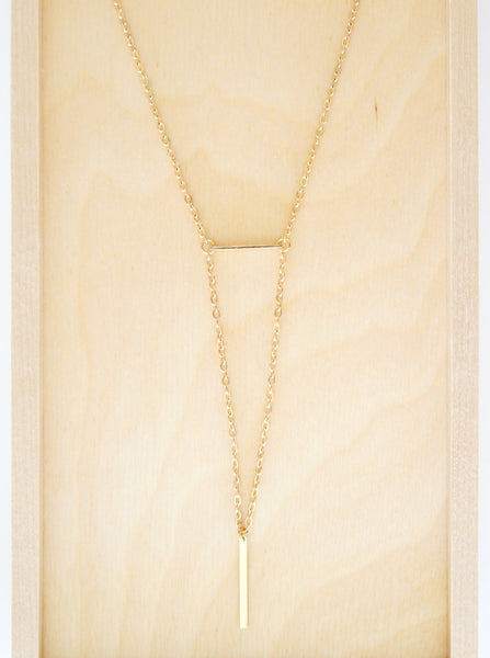 Double Bar Necklace - TYPENU Co - 3