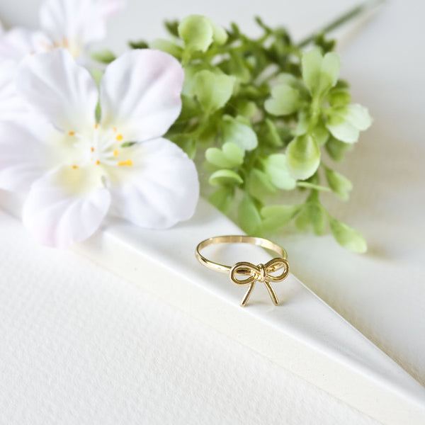 Dainty Bow Ring - TYPENU Co - 3