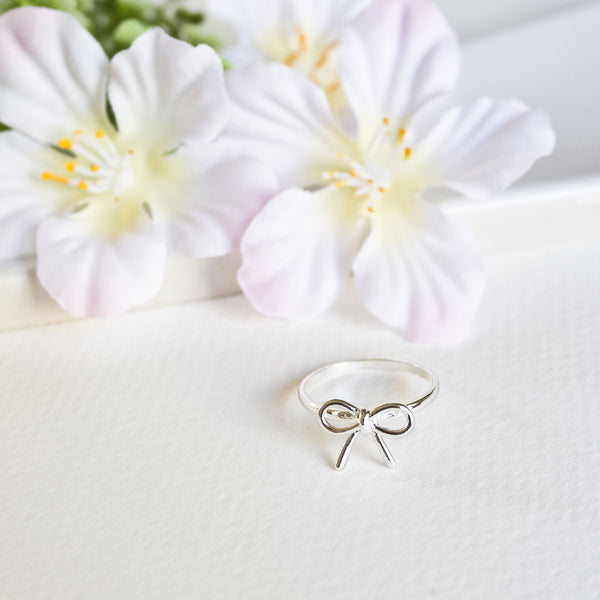 Dainty Bow Ring - TYPENU Co - 2