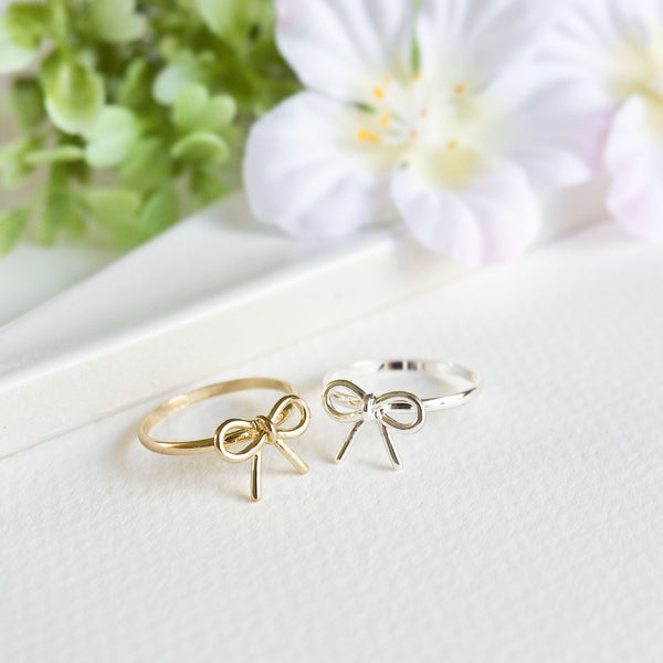 Dainty Bow Ring - TYPENU Co - 1