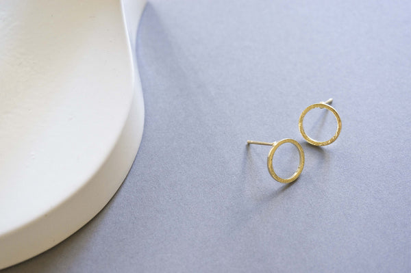 Minimal Circle Stud Earrings - TYPENU Co - 4