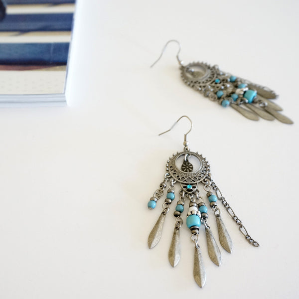Dreamcatcher Chandelier Earrings - TYPENU Co - 1