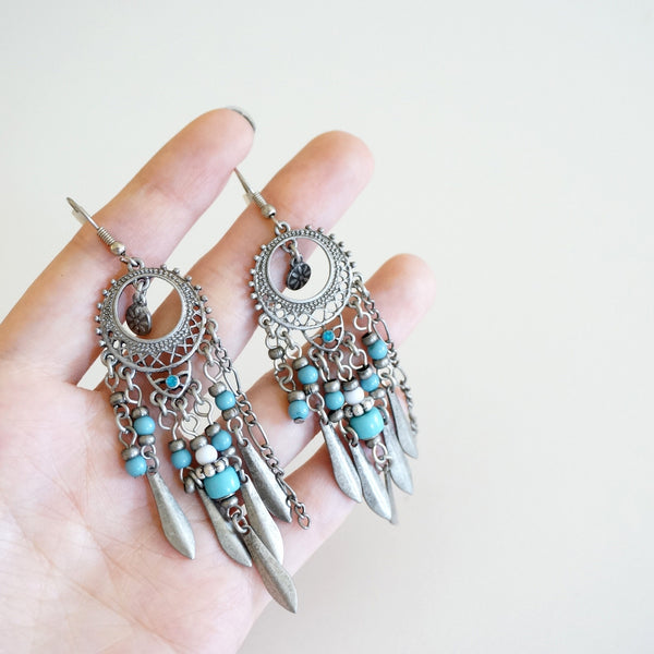Dreamcatcher Chandelier Earrings - TYPENU Co - 4