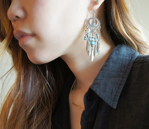 Dreamcatcher Chandelier Earrings - TYPENU Co - 2