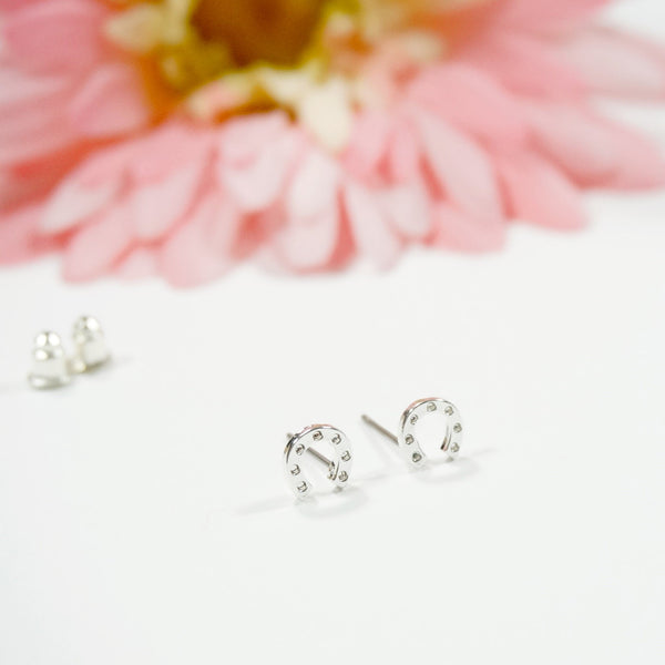 Lucky Horseshoe Earring Studs - TYPENU Co - 2