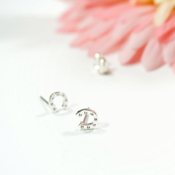 Lucky Horseshoe Earring Studs - TYPENU Co - 1