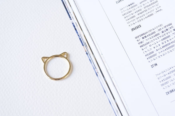 Kitty Cat Ears Ring - TYPENU Co - 3