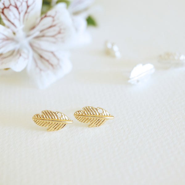 Fall Leaf Stud Earrings - TYPENU Co - 2