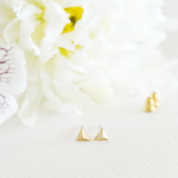 Stacking Triangle Stud Earrings - TYPENU Co - 3