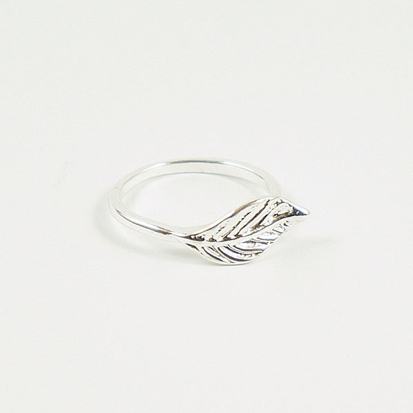 Silver Leaf Ring - TYPENU Co - 1