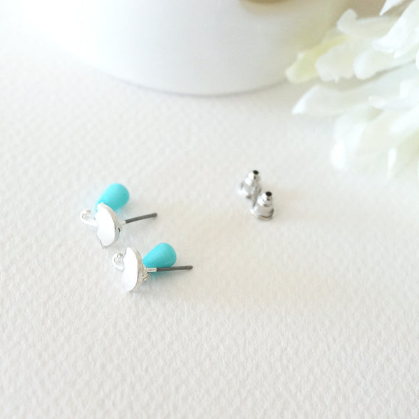 Umbrella Rain Drop Stud Earrings - TYPENU Co - 1
