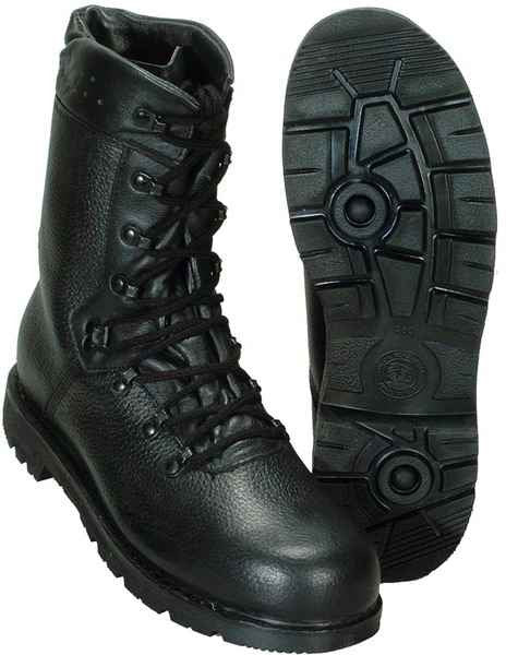 High Quality German Bundeswehr 2000 Pattern Leather Military Boots