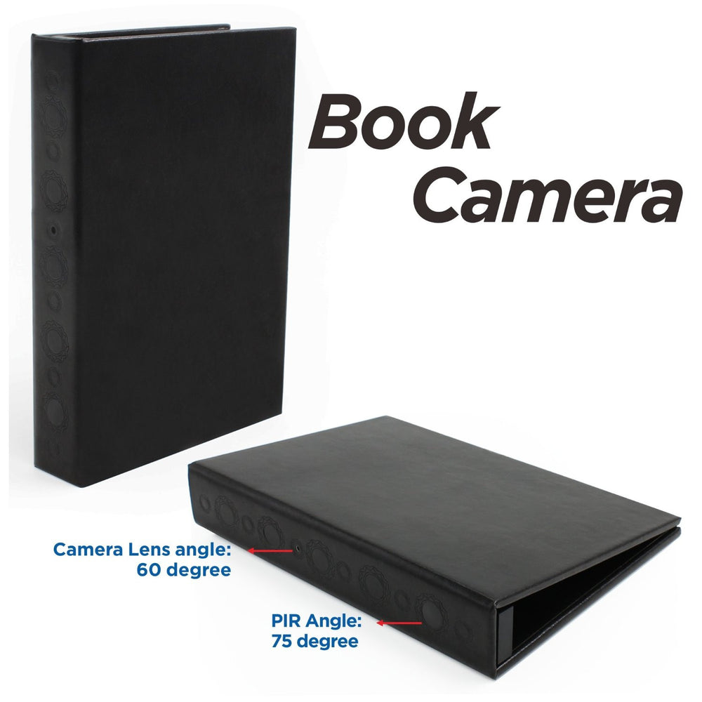 Book Camera and DVR Combination with Enhanced Battery Life
