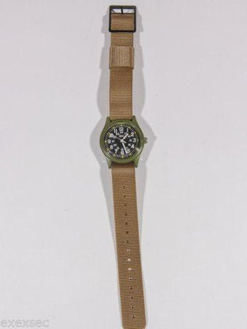 18mm US Pattern Desert Military Watch Strap Special Clearance Price for 4 Straps