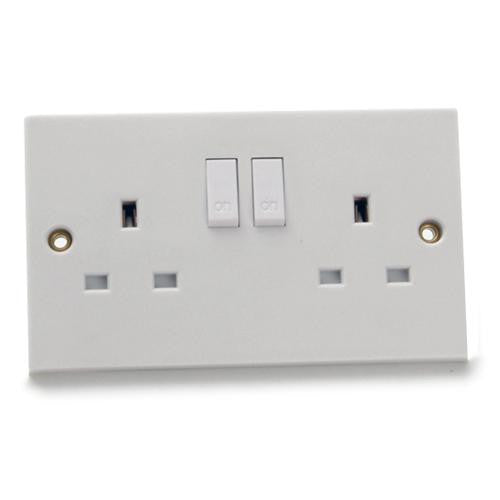 GSM Infinity Surveillance Transmitter Concealed in a Double Wall Socket