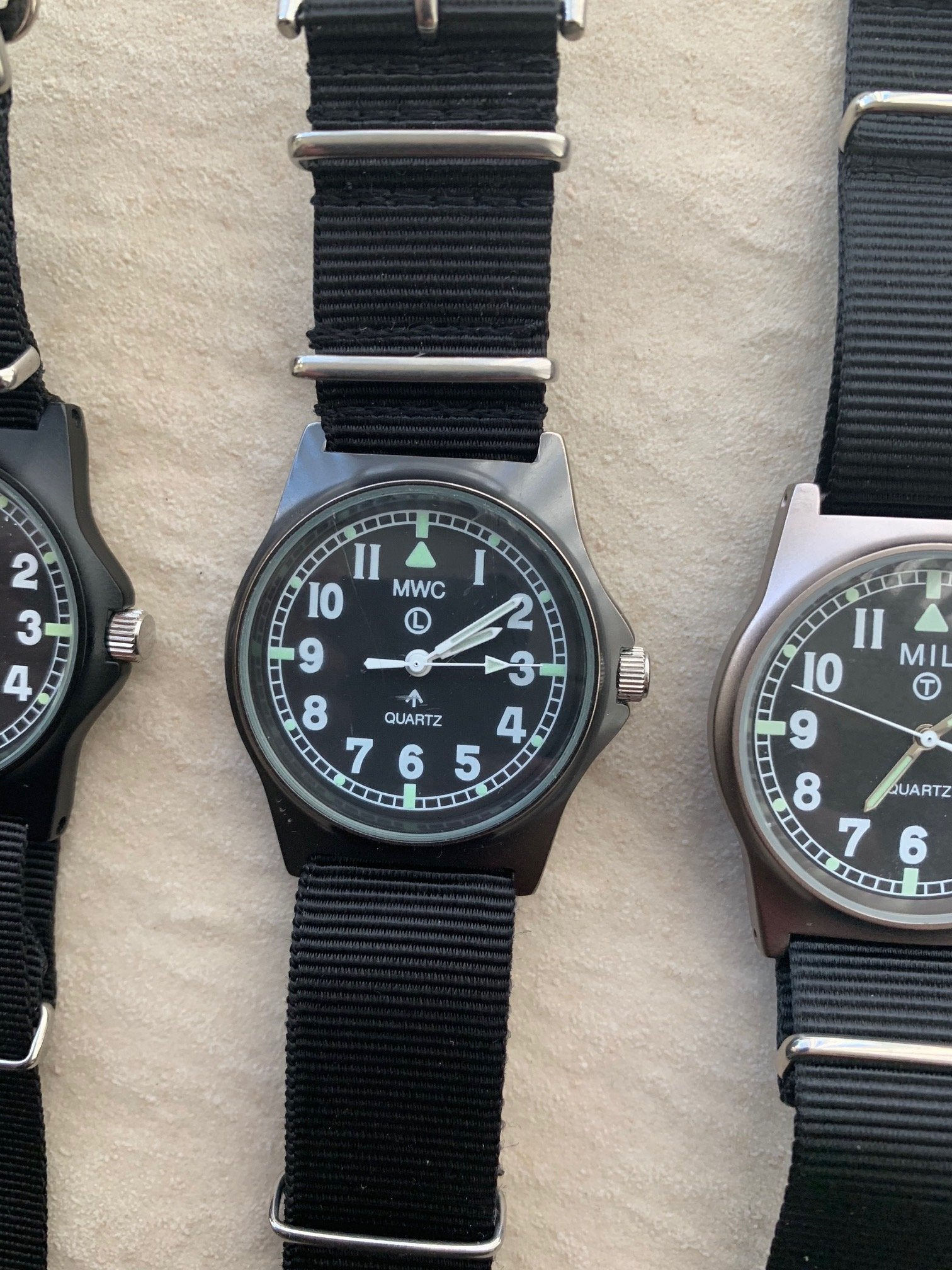 5 x Mixed G10 Watches of Various Brands (3 x MWC, 1 x CTC and 1 x MIL)