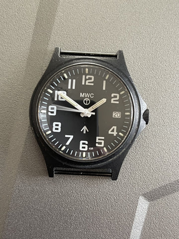 G10SL MKV 100m Water Resistant Military Watch with GTLS Tritium Light Sources - Hand Need Resetting