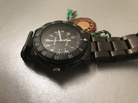 Chinese Army Watch New But Some Years Old (Needs New Battery)