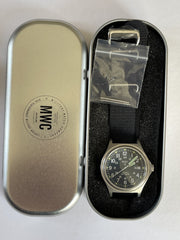 Rare MWC Mk III Stainless Steel 1950's Pattern (Manufactured in the late 1970s) Automatic Military Watch - Needs Repair to Crown